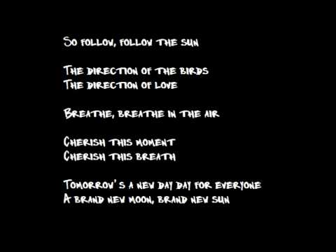 Follow The Sun - Xavier Rudd (Lyrics)