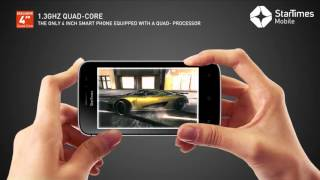 StarTimes Solar Mini smartphone.