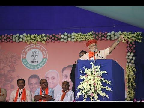 PM Modi addresses Public Meeting in Morbi, Gujarat