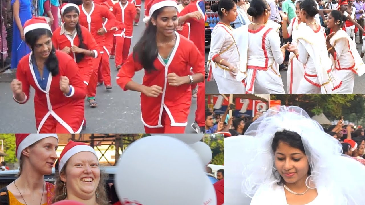 Buon Natale Thrissur.Buon Natale 2017 At Thrissur Swaraj Round Procession Flash Mob