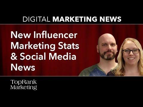 Digital Marketing News 4-12-2018: New Influencer Marketing Stats & Social Media News