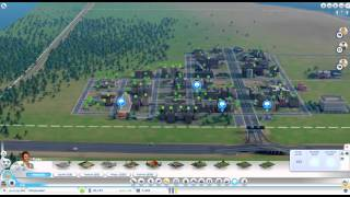 SimCity 2013 High Density Low Wealth!