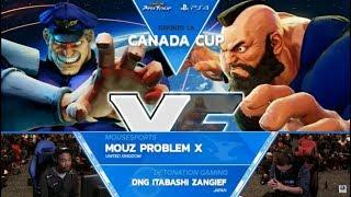 SFV: Mouz | Problem X vs DNG | Itabashi Zangief Canada Cup 2017 Top 8 - CPT2017