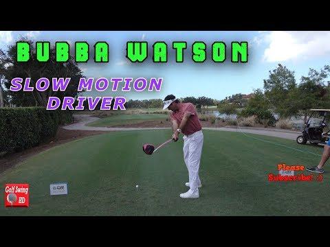 BUBBA WATSON DTL SLOW MOTION DRIVER GOLF SWING 1080 HD