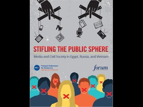 Stifling the Public Sphere: Media and Civil Society in Egypt, Russia, and Vietnam