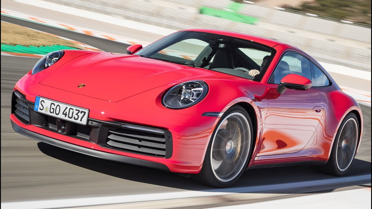 2020 Red Porsche 911 Carrera 4S , Sportier And More Comfortable