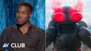 Yahya Abdul-Mateen II on playing Aquaman's laser-powered bad guy, Black Manta