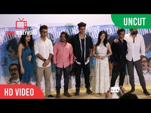 Uncut - BLUE MOUNTAINS Trailer And Poster Launch | Viralbollywood
