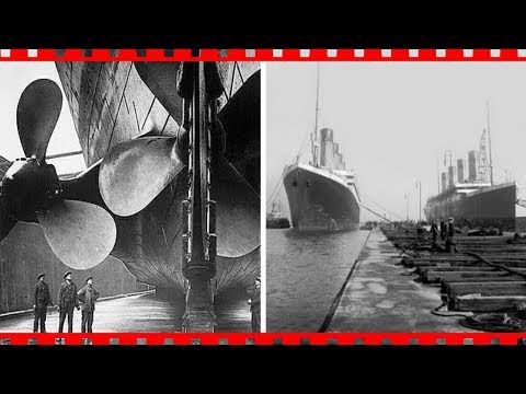 Real Historical Photos of the Construction of the Titanic