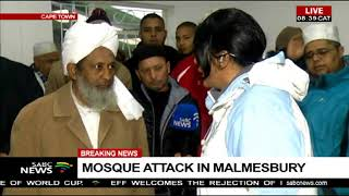 Mosque attack in Malmesbury