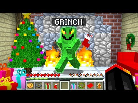 I FOUND THE GRINCH IN MINECRAFT!