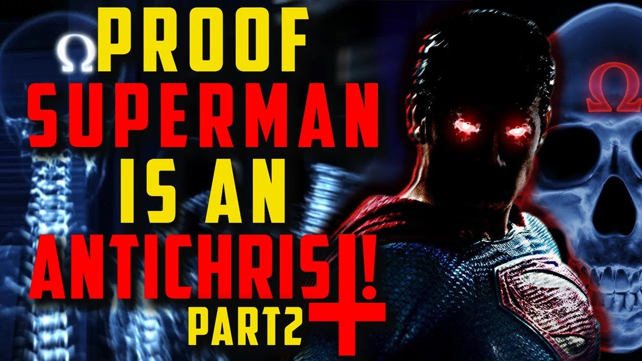 PROOF Superman is An Anti-Christ pt.2 - LED - The truth behind the cape! The Replacement Gods.