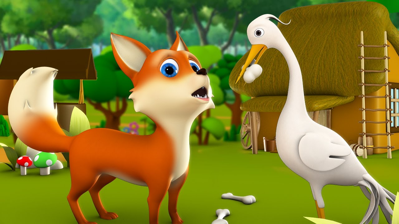 Bhediya aur Saras Hindi Moral Stories for Kids 3D Animated