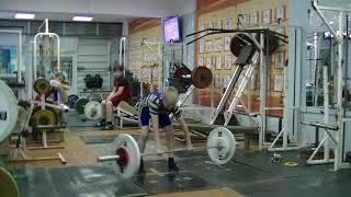 Отегов Степан, 12 лет, св 34 На грудь 30 кг на 2 раза