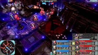 Dawn of War 2 - 3v3 | Phoenix Lord + England + SuperHooper [vs] Phoenix + Blood Angel + Triumph