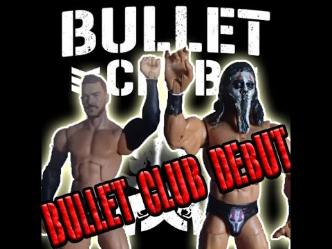 WWE Bullet Club Take Over!! (Figure Stop motion)