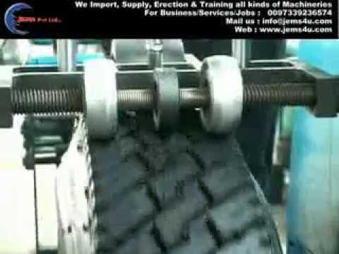 Tyre Retreading Machine 1 Youtube