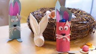 Baixar Bricolage de Pâques DIY : Lapin de Pâques garni de chocolats