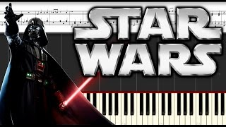 Star Wars, The Imperial March Piano tutorial