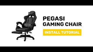 JIJI Pegasi Gaming Chair - Display and Install Procedure