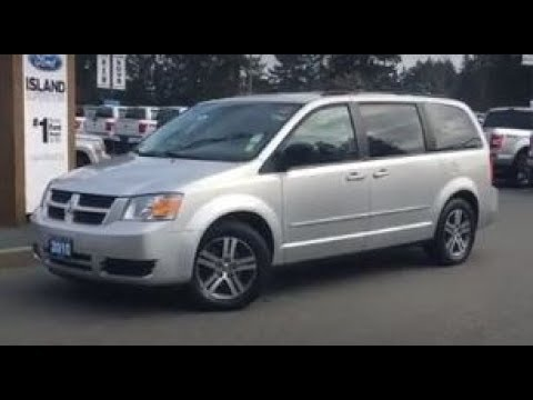 2010 Dodge Grand Caravan Se W Stow N Go Dvd Aux Backup Camera Review Island Ford