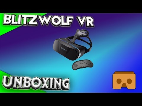 Unboxing Blitzwolf VR Brille - Das bessere Cardboard! [Cardboard][SBS][German][Virtual Reality]