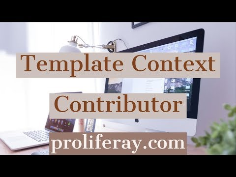 Template Context Contributor Project In Liferay Portal