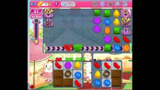 Candy Crush Saga Level 875 No Boosters , 9 moves left