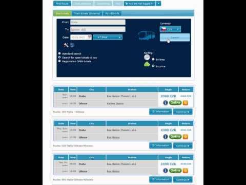 Find Open Routes - поиск билетов с открытой датой