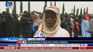Group Marches In Abuja Over El-Zakzaky's Detention