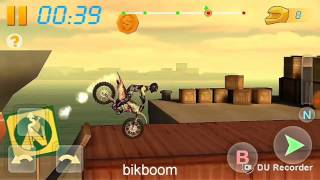 Bike Racing 3D (game) | Level 4 | Reverse Ridding | Slow Backflip Angle : 720 | Android Biking Game