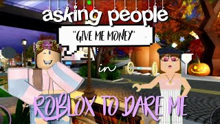 I ASK PEOPLE TO DARE ME IN ROBLOX || ITZ_ICYPURPLE