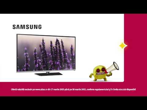 ALTEX Noaptea Devoratorilor de Preturi 17 martie 2015 - TV Samsung