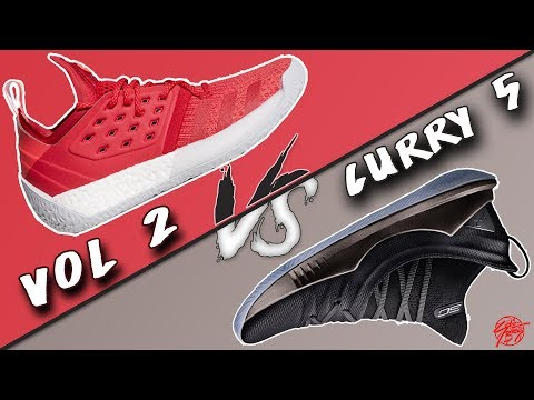 Adidas James Harden Vol. 2 vs Under Armour Curry 5!