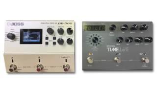 boss dd500 vs strymon timeline digital delay stereo