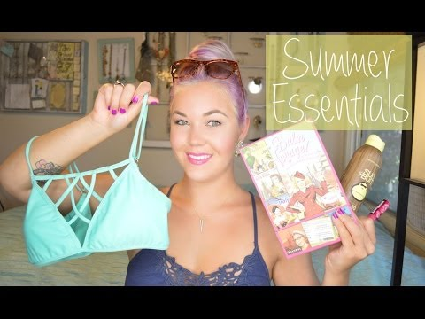 ✿SUMMER ESSENTIALS | SUNSCREEN, HAIRCARE, MAKEUP, BATHINGSUITS, + MORE✿