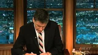 Late Late Show with Craig Ferguson 7/21/2009 Gerard Butler, Jackie Collins