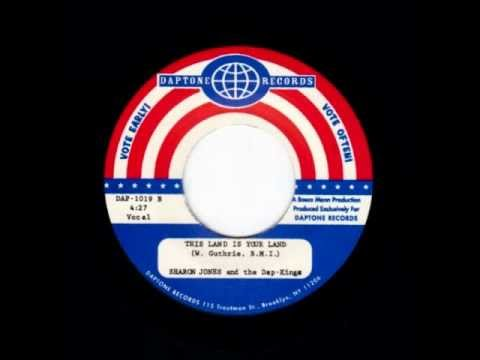 """Sharon Jones & the Dap-Kings """"This Land Is Your Land"""""""