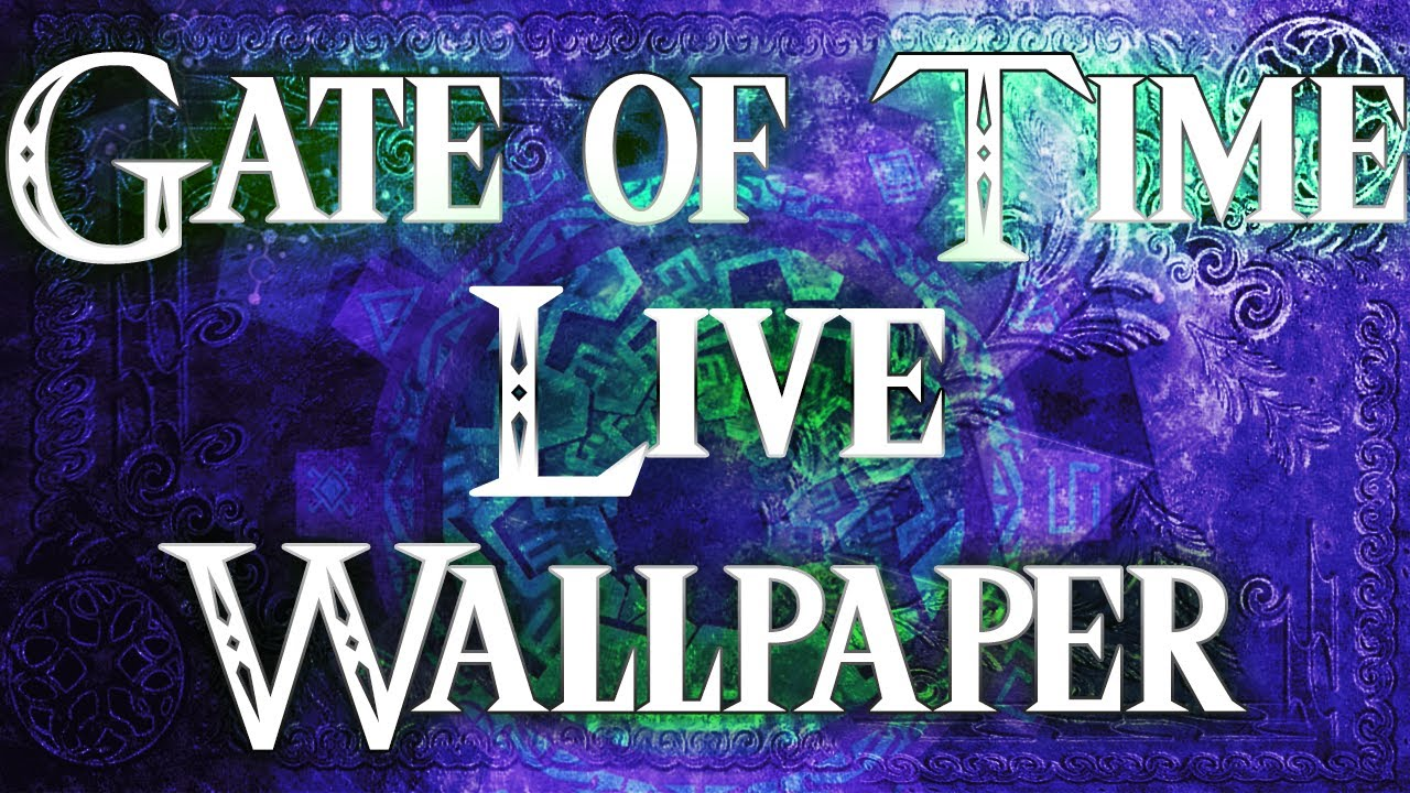 Gate of Time Live Wallpaper - YouTube