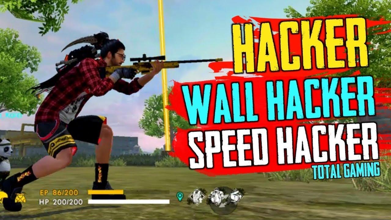 I Meet Wall Hacker In Free Fire Speed Hack Car Hack Garena Free Fire