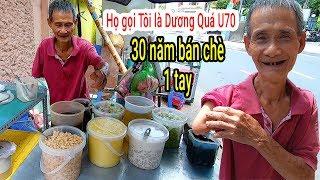 Quán Chè Dương Quá Thần Điêu Đại Hiệp nổi tiếng vì chủ quán chỉ có 1 tay bán chè như Phim ở Sài Gòn