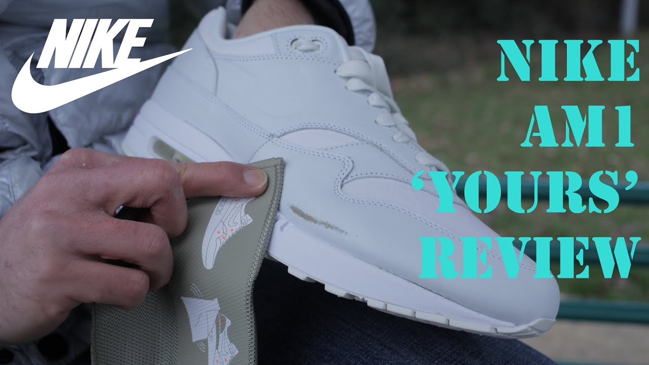 Nike Air Max 1 'Yours' (Asparagus) Scratch Review