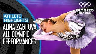 All Alina Zagitova Medal Winning Skates at PyeongChang 2018 Athlete Highlights