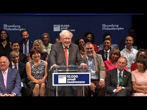 Warren Buffett Shares Advice With Small Business Owners