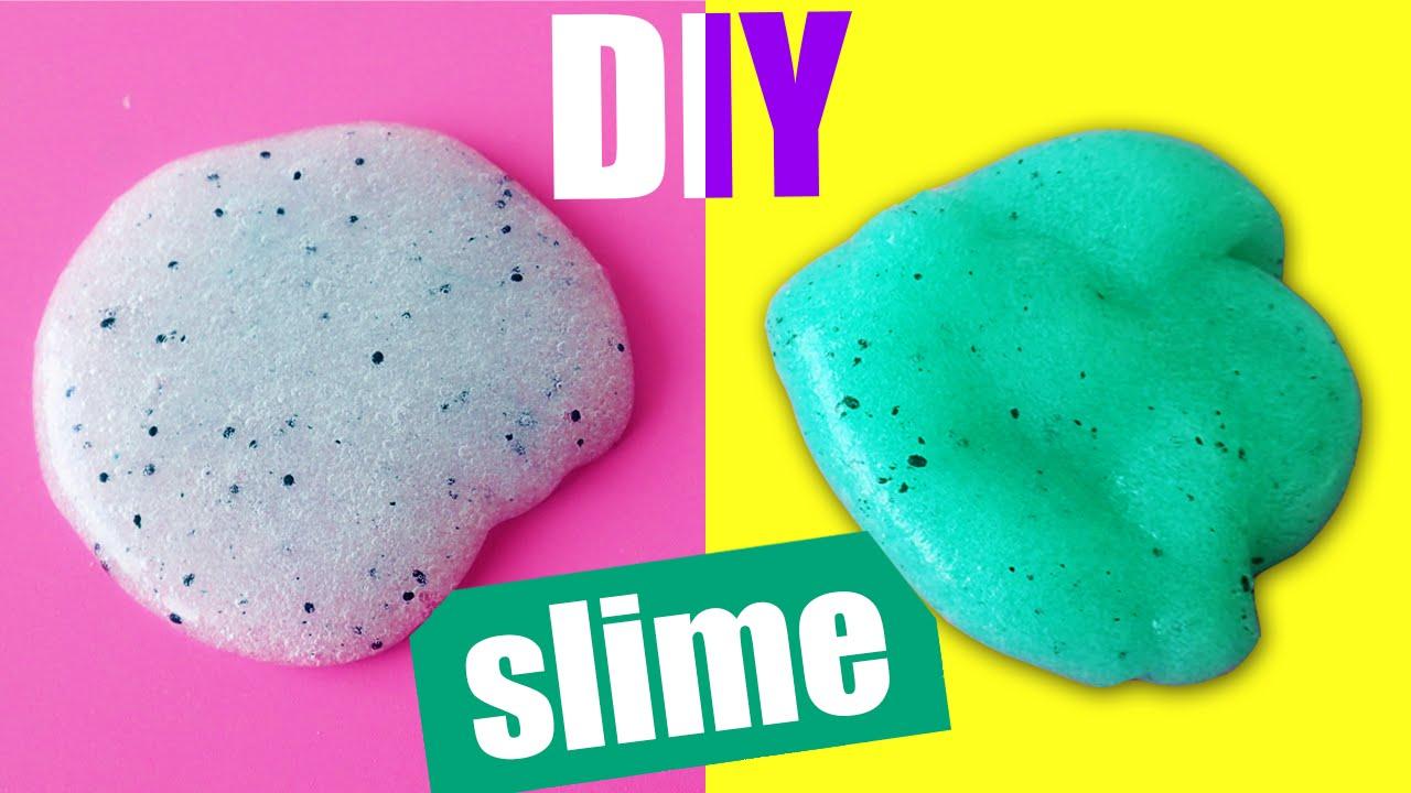 Diy Color Changing Slime How To Make