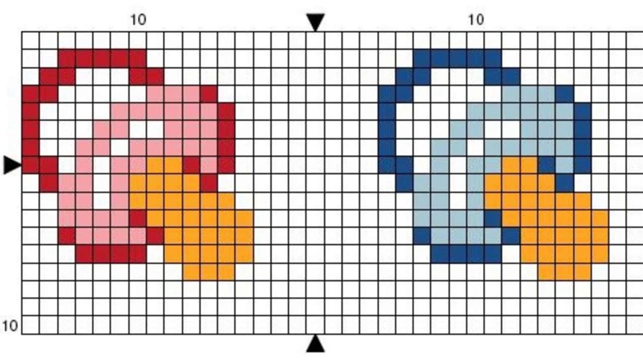 Patrones para punto de cruz especial principiantes III | Aprende a ...