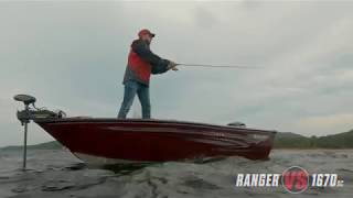 Ranger Aluminum VS1670SC On Water Footage