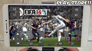 SAIUU!! FIFA 14 OFICIAL de PLAYSTATION para CELULAR ANDROID - PLAY STORE (Gameplay HD) DOWNLOAD