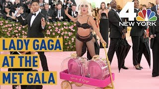 Met Gala 2019: See Lady Gaga\'s Incredible, 16-Minute Entrance | NBC New York