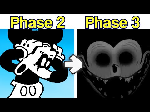 Friday Night Funkin': Mickey Mouse 3rd Phase Leaked: Really Happy [FNF Mod/HARD] - Fanmade Mod